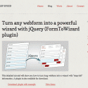 jQuery Form Wizard