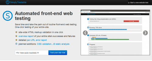 Frontend Testing mit Simply Testable